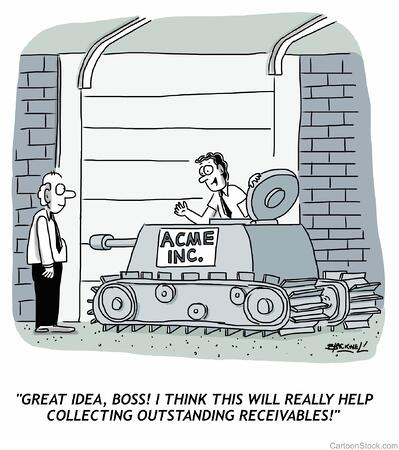 Receivables Cartoon